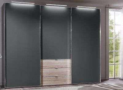 staud media schwebet renschrank kleiderschrank mit tv aussparung wei 298 cm eur. Black Bedroom Furniture Sets. Home Design Ideas