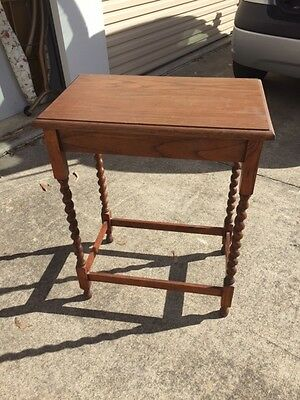 Wooden Hall Table - Antique