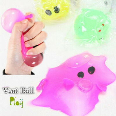 1Pc Anti-stress Decompression Splat Ball Vent Toy Smash Various Styles Pig Toys