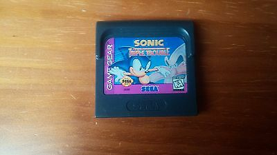 Juego Game Gear Sonic Triple Trouble