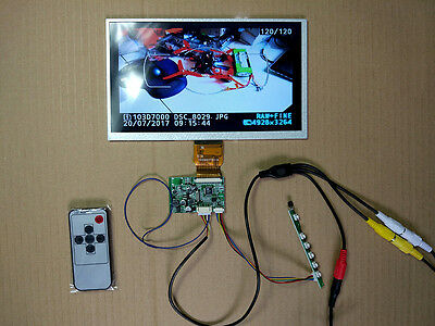 "9"" LCD LED Screen with Display drive board Kit Set For Raspberry Pi"