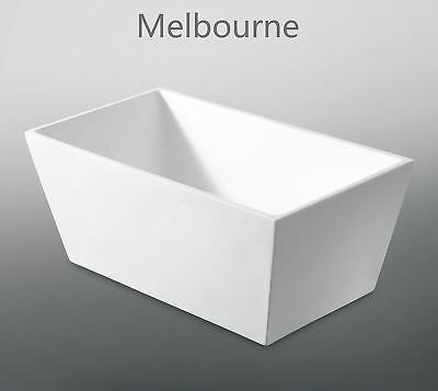 Melbourne Bathroom Compact Small Size 1400mm Freestanding Bath Tub 4, On Sale