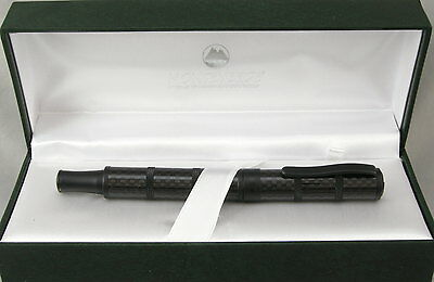 Monteverde Regatta Sport Full Carbon Fiber & Black Rollerball Pen - New