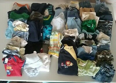 huge lot of 3- 6 month boy clothes
