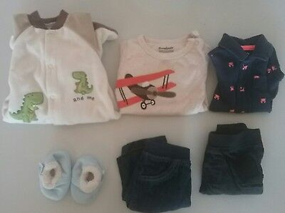 lot of newborn boy clothes