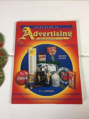 Advertising Memorabilia Collectors Guide Second Ed. Paperback 1999 - 221 Pages