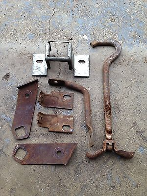 1968 Ford Mustang Fender Brackets And Trunk Hardware