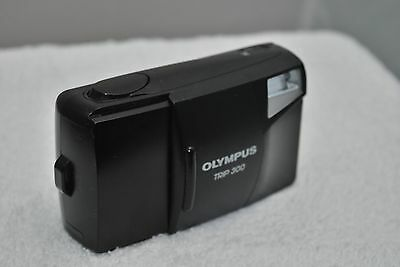 Olympus Trip 300- 35mm Film Camera Point And Shoot Working
