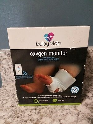 Baby Vida Oxygen Level Heart Rate Monitor 0-12 months support socks wireless