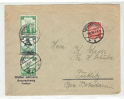 Germany, Nice Franking Cover 1935