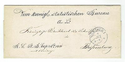 Germany, Munchen - Weissenburg, Old Cover, Pre-Philately
