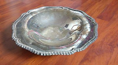 Manor Plate Sheffield 475 Silver plated Dish. No Reserve!