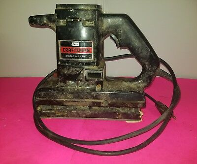 Sears Craftsman Sander 315.1168 Used Double Insulated Dual Motion  Free Ship 1C