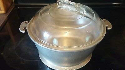 Vintage Guardian Service Cookware 3 Quart Tureen with Dome Lid