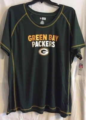 GREEN BAY PACKERS-NFL TEAM APPAREL-Women's 2X ~ New With Tags