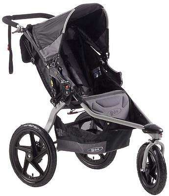 BOB Revolution SE Black Single Stroller ~ NEW ST1023