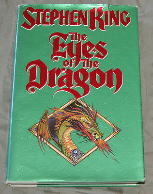 The Eyes Of The Dragon Stephen King 1st Edition Book Hard Cover HC DJ