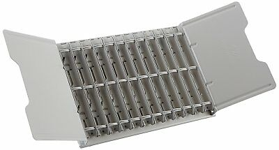 Durable Catalog Display Rack with  12 1-Inch Rings, Gray DBL595110