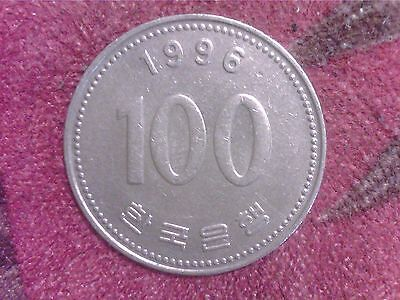 South   Korea   100   Won   1996