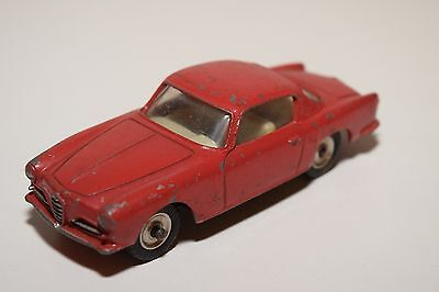 F Dinky Toys 185 Alfa Romeo 1900 Super Sprint Coupe Red Excellent Condition