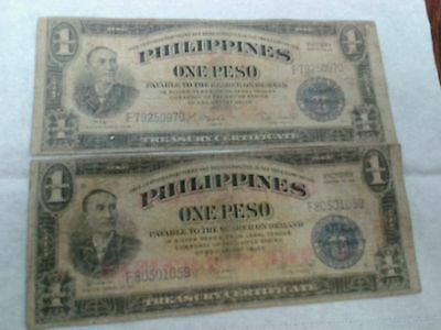 1945 Philippines 2× Peso Victory Series With Rare  Central Bank Of Philippine