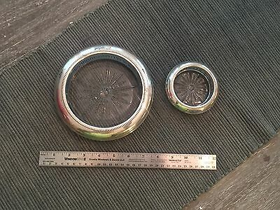 Sterling Ashtray And Coaster