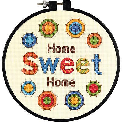 Dimensions Learn-A-Craft 72-73704 Sweet Home Counted Cross Stitch Kit
