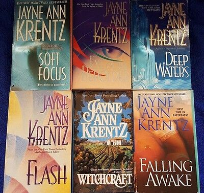 Lot of 6 Jayne Ann Krentz Paperbacks (E9-5)
