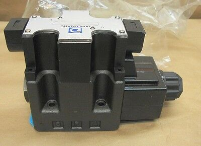 NEW Duplomatic DS5JB-TA02/10N-K6 Solenoid Operated Directional Control Valve