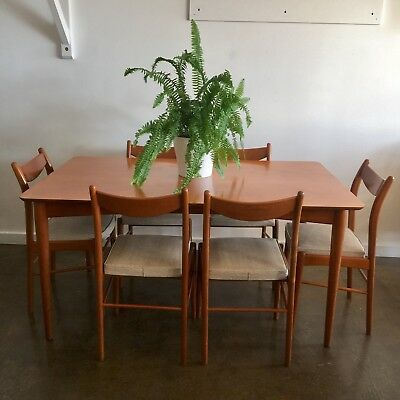 Retro Vintage TH Brown and Sons dining set