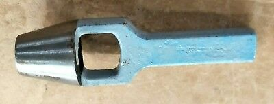 """Carpenter 22mm 7/8"""" Wad Punch made in England"""