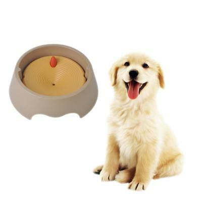 Pet Dog Splash Proof Agua Bowl Derrame Waterer Fuente Fuente Drinker Dish