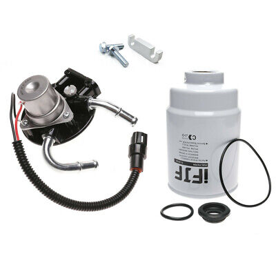 tp3018 billet aluminum fuel filter with heater for chev gmc 04-13 duramax
