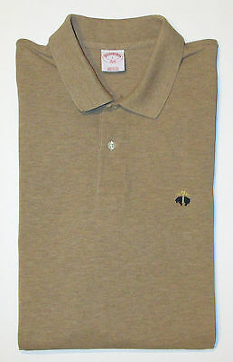 NEW Brooks Brothers Men's Large Original Fit Short Sleeve Pique Polo Shirt