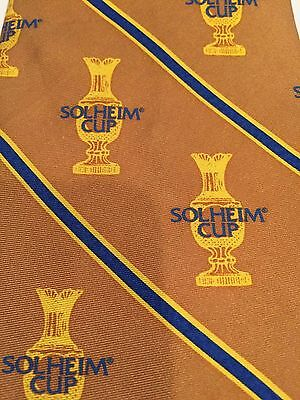Solheim Cup 2003 PG&A 100% Pure Silk Tie Professional Women's Golf Tournament
