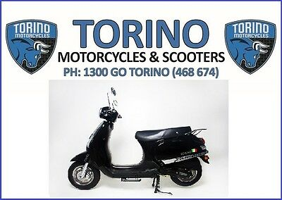 BRAND NEW 2017 TORINO FAMOSA 125cc LAMS SCOOTER BLACK – $2,690 RIDE-AWAY