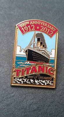 Titanic 100th Anniversary Metal Pin