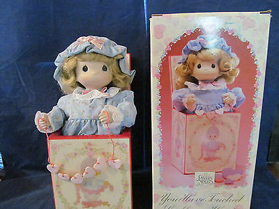 ENESCO PRECIOUS MOMENTS You Have Touched So Many Hearts Musical Jack-In-The-Box