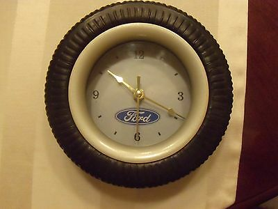 Ford Tire Clock