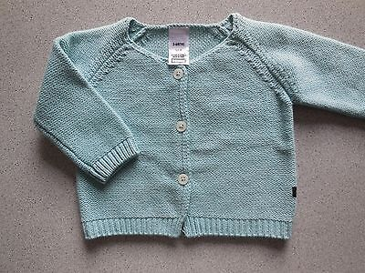 'bonds' Baby Boy Girl Warm Cardigan Size 00 Fits 3-6M