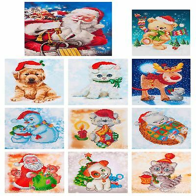 Diamond Dotz Diamond Embroidery Cross Stitch Craft Kit DIY Mosaic - Christmas