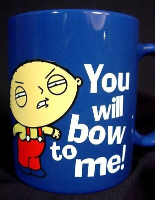 Family Guy, Stewie You Will Bow To Me! Ceramic Coffee Mug