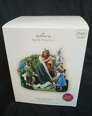 Hallmark Keepsake King Of The Forest Ornament The Wizard of Oz