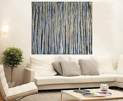 Aboriginal Art Painting  Gold Fields 80cm x 80cm  by jane crawford Huge COA