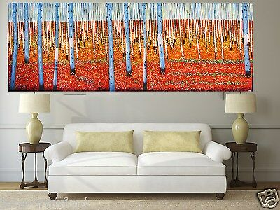 250cm Huge Art outback landscape  modern Australia By Jane non aboriginal