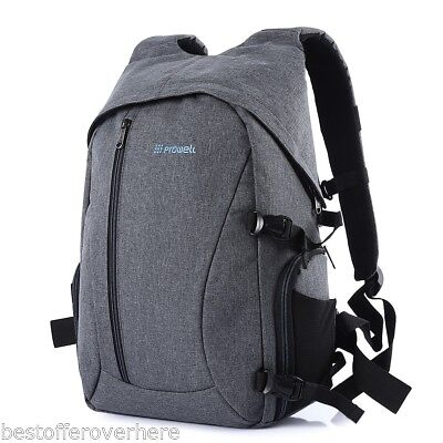 PROWELL DC21439 Professional DSLR Camera Flax Waterproof Photography Backpack