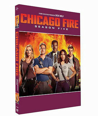 Chicago Fire Season 5 (DVD, 2017, 5-Disc Set) Brand New Sealed Free shipping