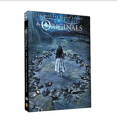 The Originals Season 4 (DVD, 2017, 3-Disc Set) Brand New Sealed Free shipping
