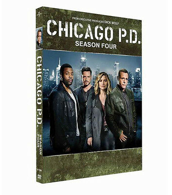 Chicago PD Season 4 (DVD, 2017, - 5 Disc Set) Brand New Sealed