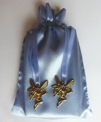 Gold Goddess Blue Tarot Bag